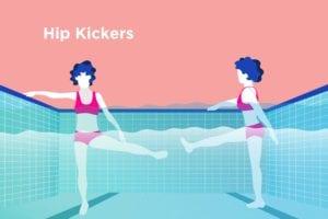 Water Exercise for Arthritis Hip Kicker