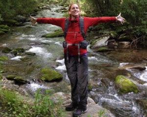 COVID-19 Long-Hauler Amy Siniscalchi Hiking