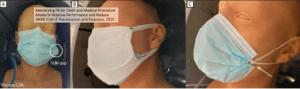 Maximizing Fit for Cloth and Medical Procedure Masks to Reduce Coronavirus Transmission