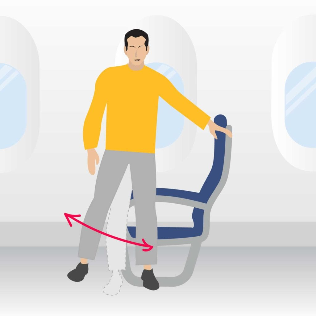 Airplane stretch