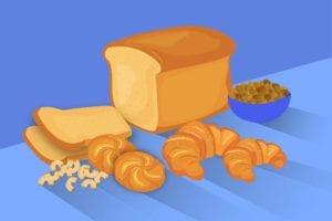 Gluten in bread
