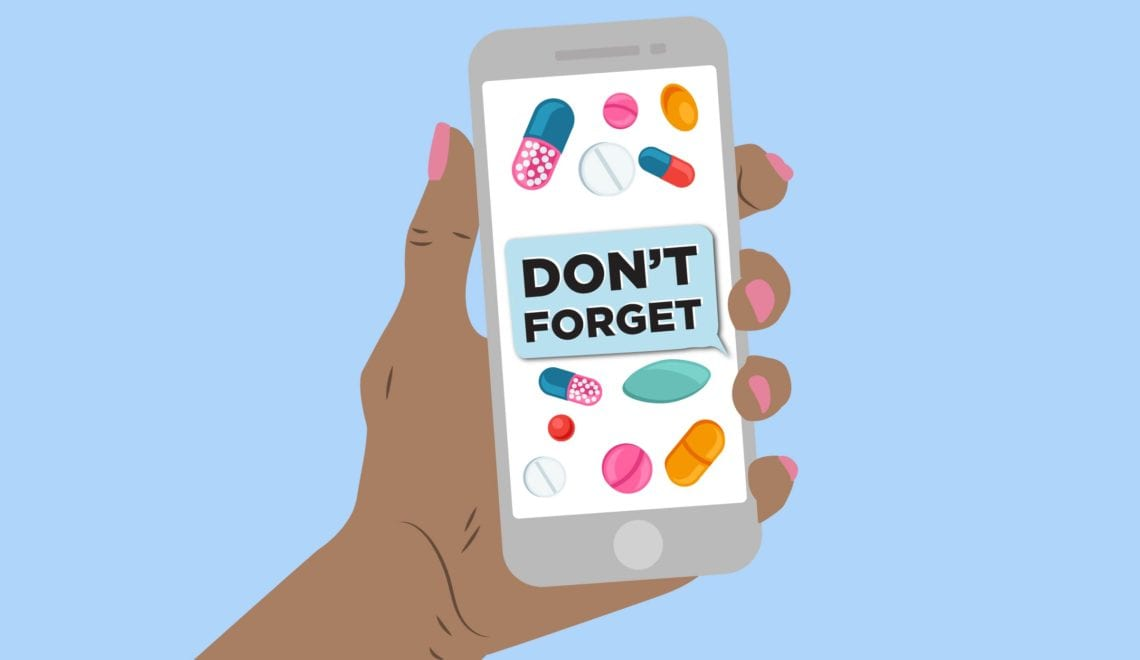 Text Message Medication Reminder
