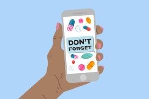 Text Message Medication Reminder
