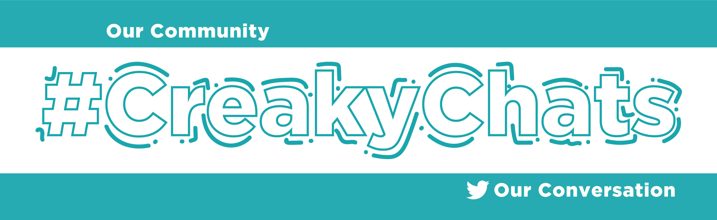 Creaky Chats Twitter Chat Banner