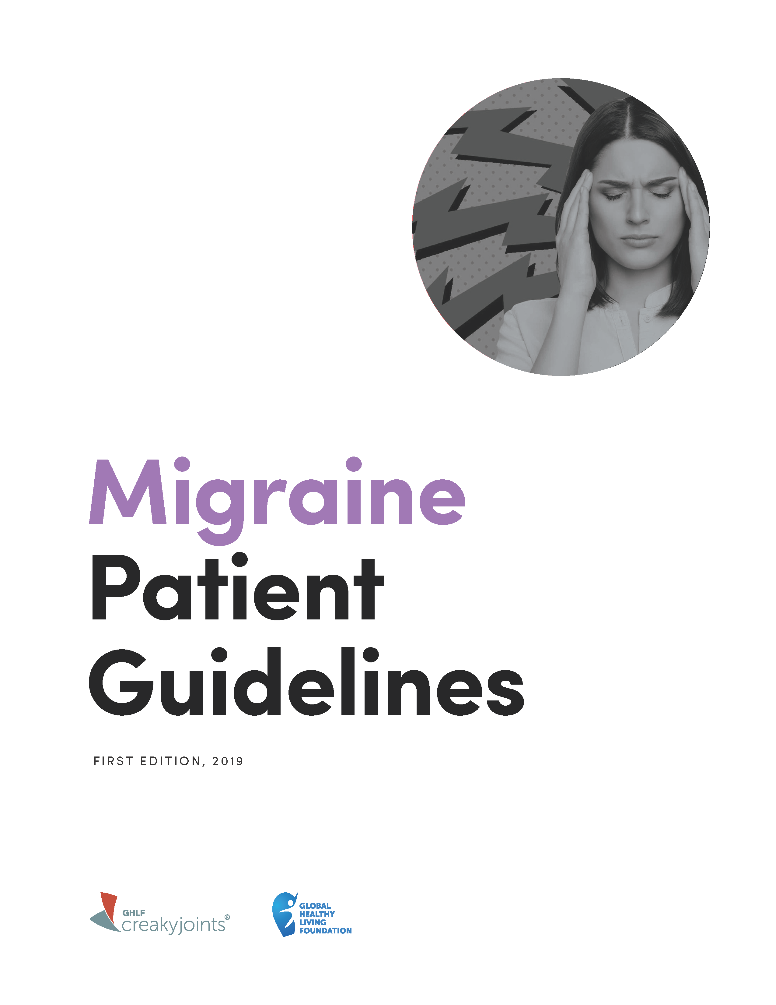 Migraine Patient Guidelines First Edition 2019 graphic
