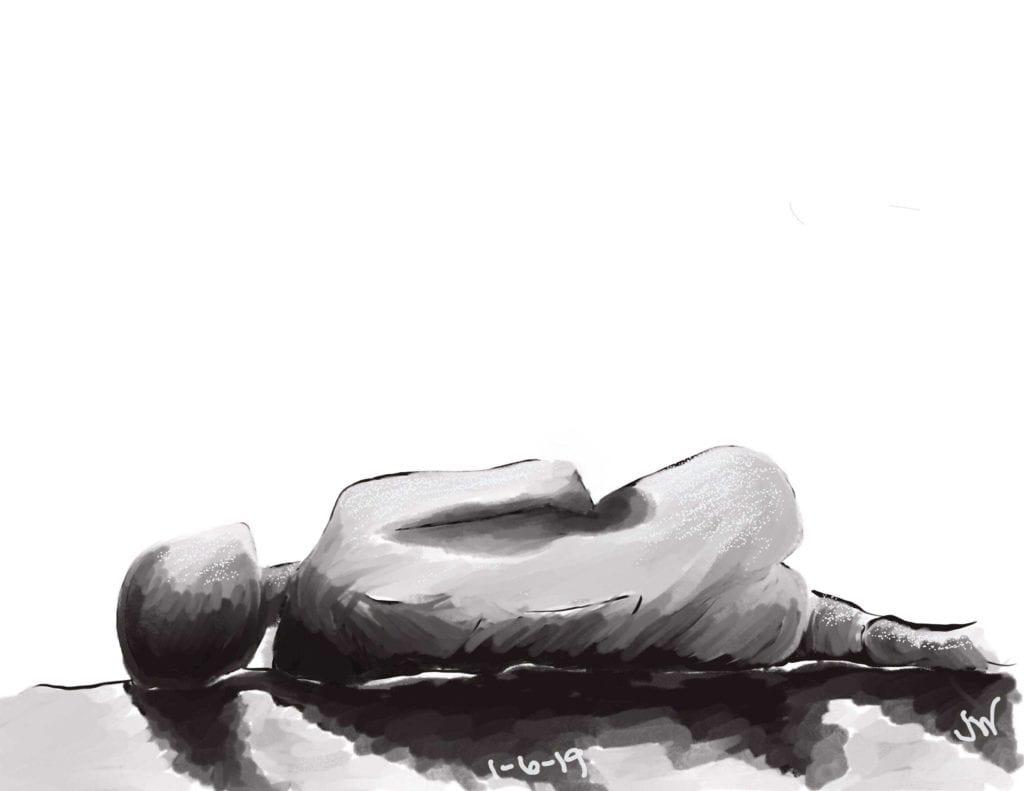 Arthritis Art Fatigue Black Drain