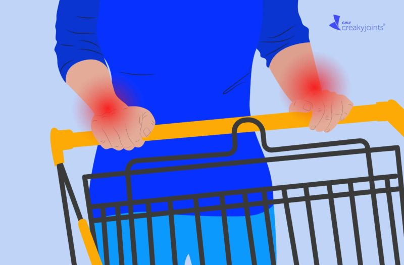 Grocery Shopping with Arthritis