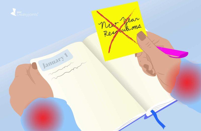 No New Year Resolution with Rheumatoid Arthritis
