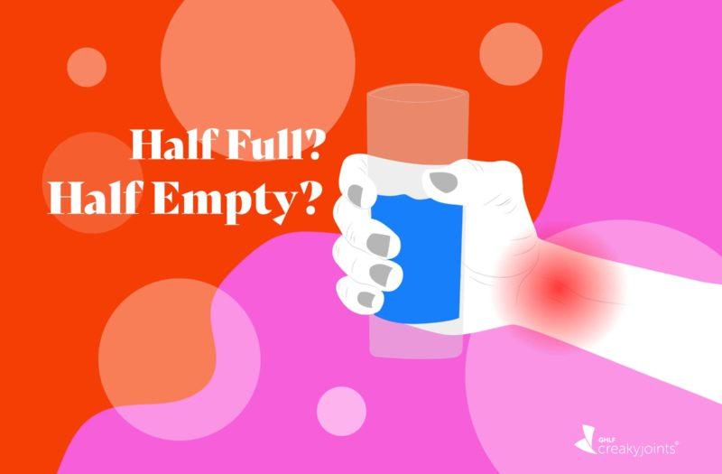 Half full? Half empty? Graphic