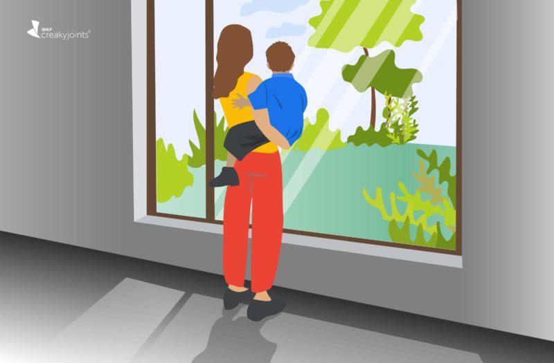 Parenting During Coronavirus as an Immunosuppressed High-Risk Mom with Rheumatoid Arthritis
