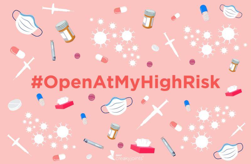 #OpenAtMyHighRisk Hashtag
