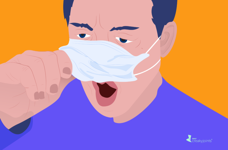 Difficulty Breathing in Face Mask with Asthma and Lung Disease