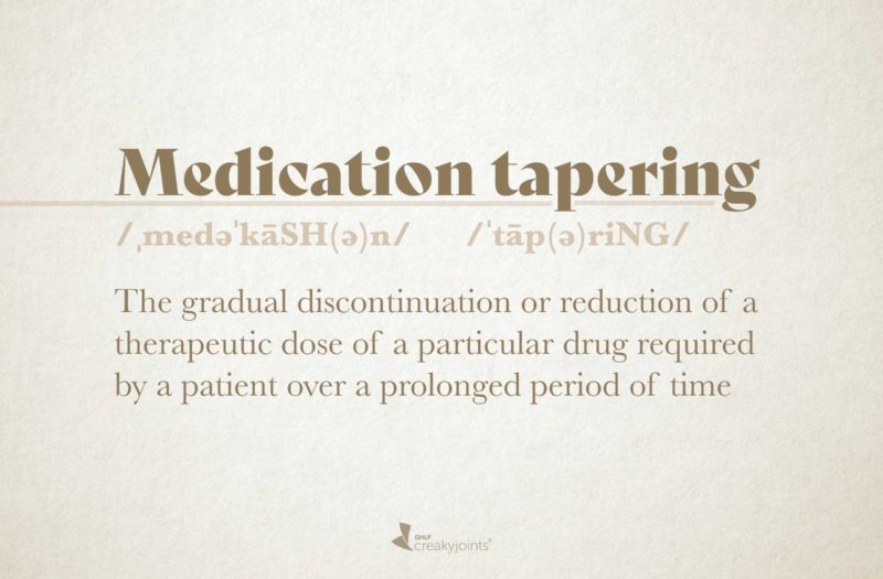 Medication Tapering