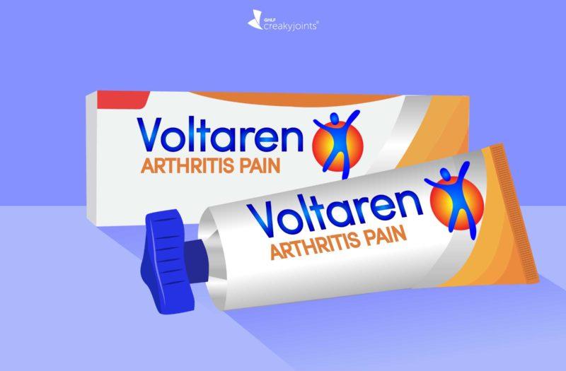 Voltaren for Arthritis Joint Pain