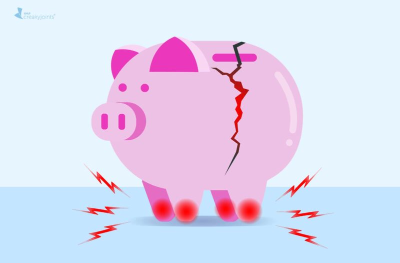 How Arthritis Affects Finances and Money