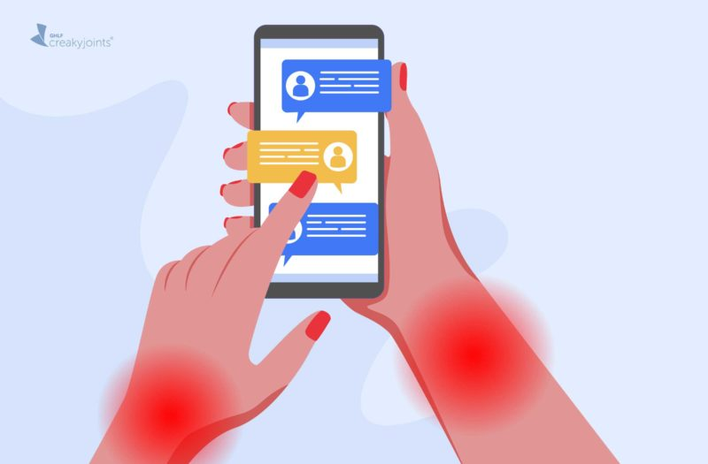 Reduce Pain from Texting and Typing with Arthritis