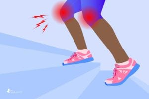 Walking Up and Down Stairs with Arthritis in the Knees