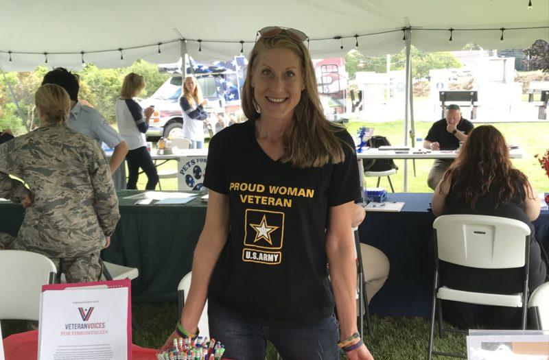 Veteran with Arthritis and Chronic Pain Kristal Kent