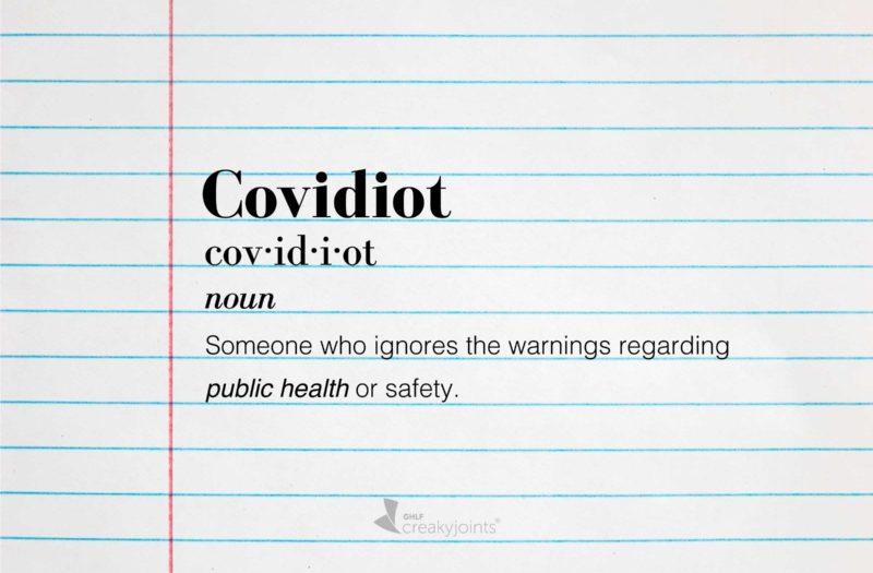 Covidiots and COVID-19 deniers