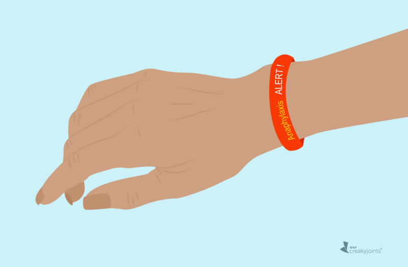 Anaphylaxis Allergy Bracelet