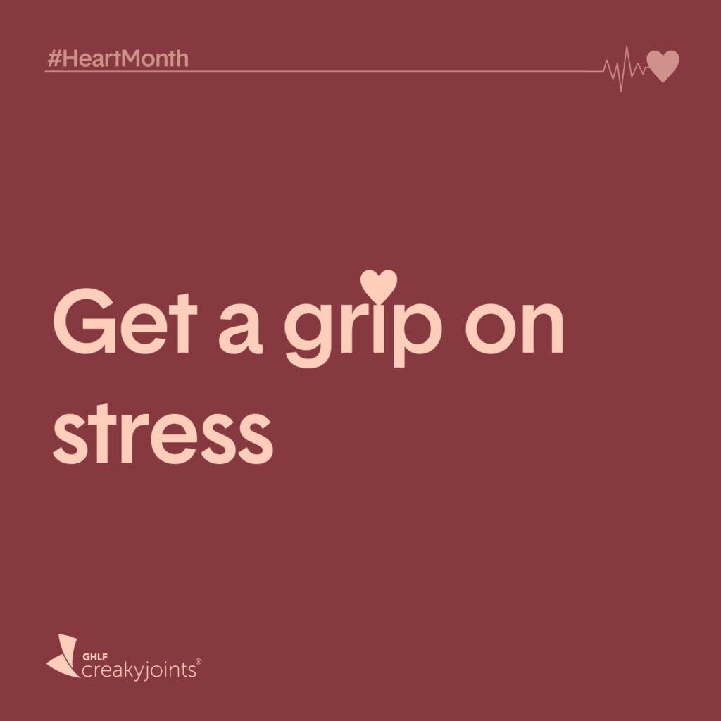 Get a grip on stress