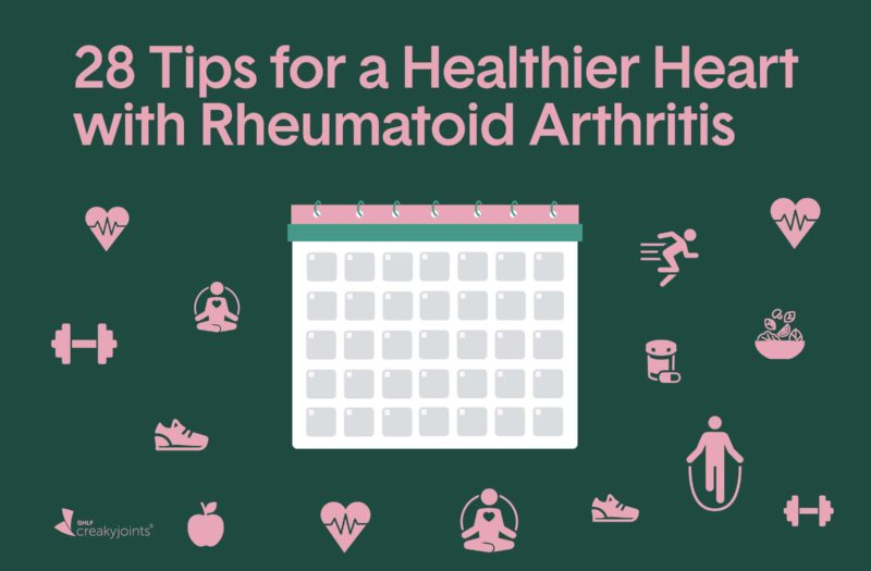 Tips for a Heathy Heart with Rheumatoid Arthritis