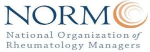 National Organization of Rheumatology Managers logo